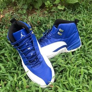 Nike Air Jordan XII 12 Retro Royal Blue Shoes